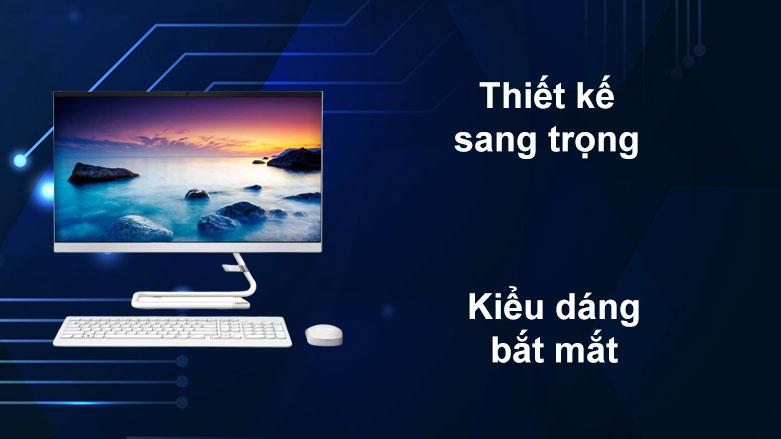 PC Lenovo AIO IdeaCentre 3 24IIL5 | Thiết kế snag trọng