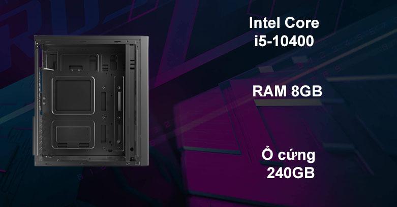 Máy tính để bàn Phong Vũ PVP Office K10400-1 | Hiệu năng ổn định