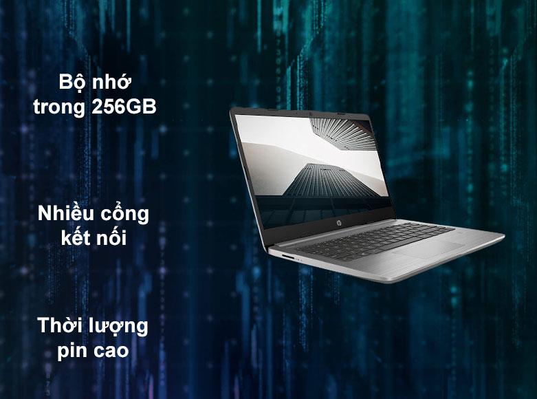 Laptop HP 340s G7 | Nhiều cổng kết nối, Thời lượng pin cao