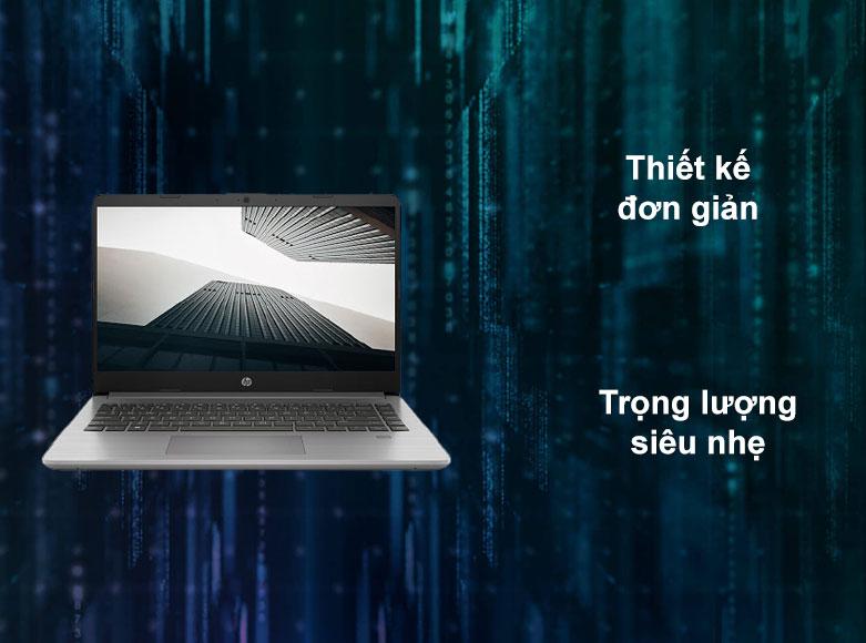 Laptop HP 340s G7 | Thiết kế đơn giản, Trọng lượng siêu nhệ