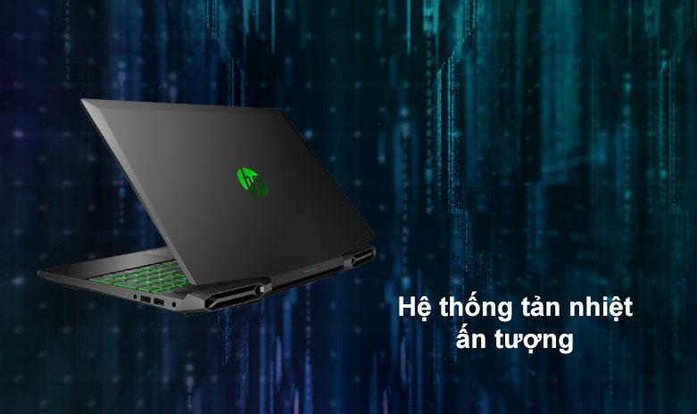 Laptop HP Pavilion Gaming 15-dk1086TX | Hệ thống tản nhiệt ấn tượng