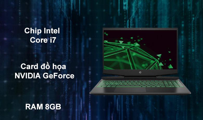 Laptop HP Pavilion Gaming 15-dk1086TX | Hiệu năng mạnh mẽ