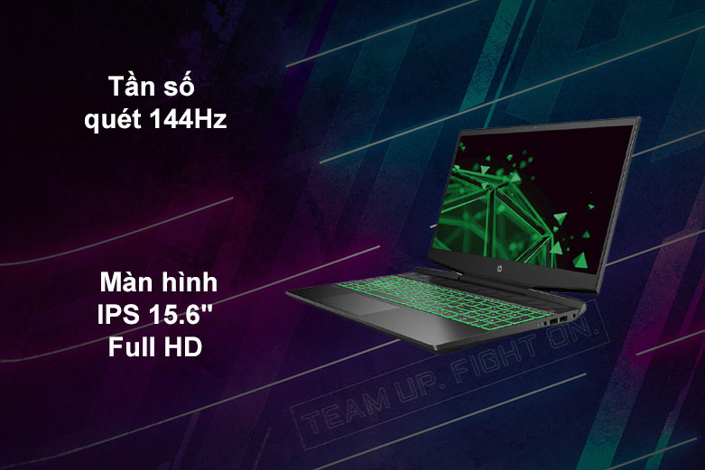 Laptop HP Pavilion Gaming 15-ec1056AX | Tần số quét 144Hz