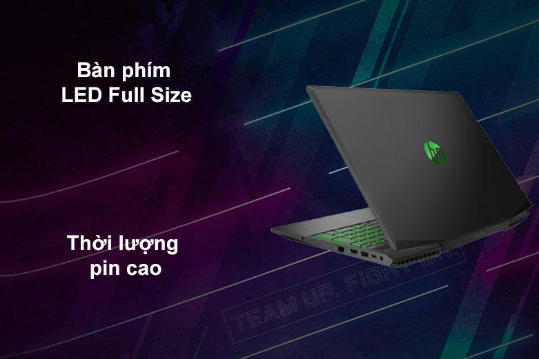 Laptop HP Pavilion Gaming 15-ec1056AX | Bàn phìm Full Size, Thời lượng pin cao