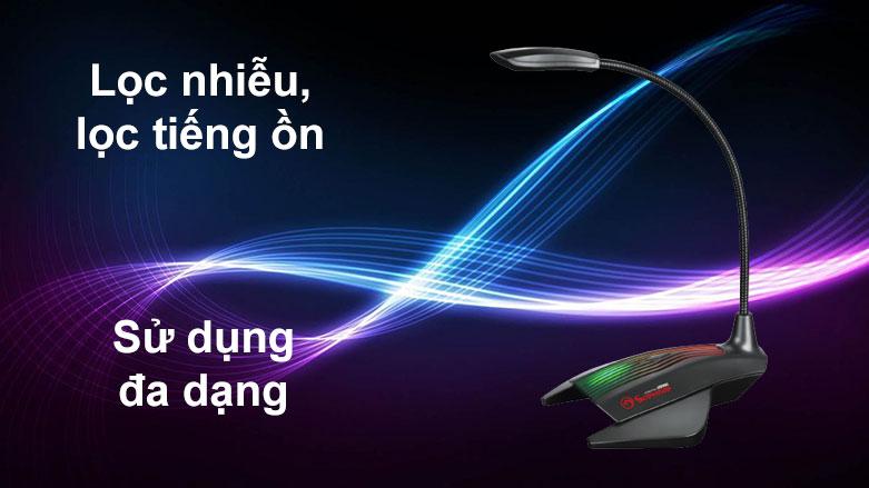 Micro Marvo MIC-01 LED | Lọc nhiễu, lọc tiếng ồn, Sử dụng đa dạng