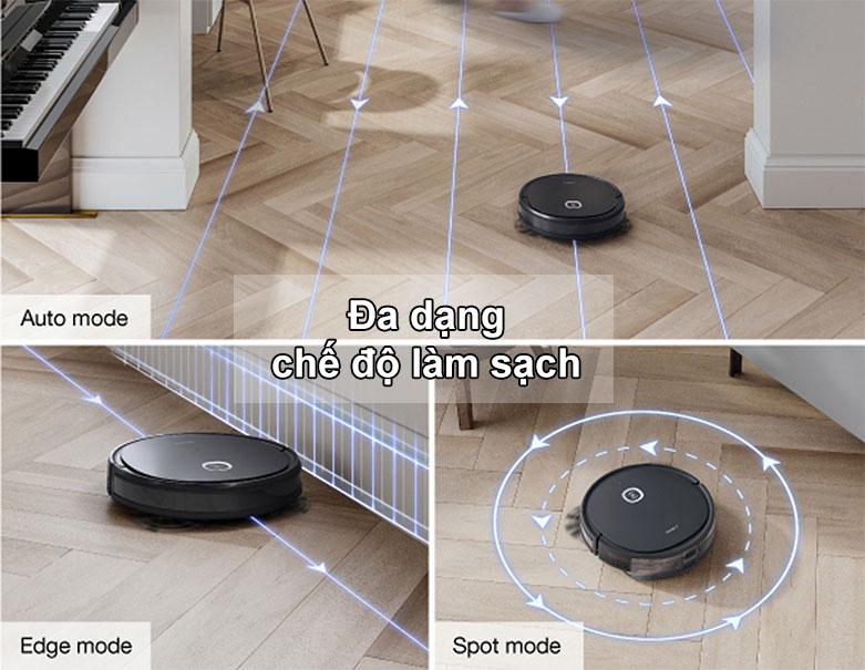 Robot hút bụi lau nhà thông minh Ecovacs Deebot U2 Pro | Đa dạng chế độ làm sạch