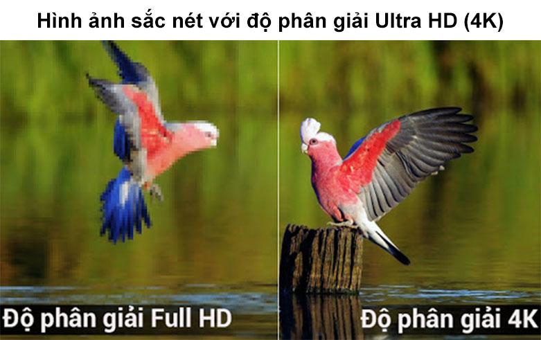 Smart Tivi LG 4K 55 inch 55UN7300PTC | Hình ảnh săc nét với độ phân gải Ultra HD