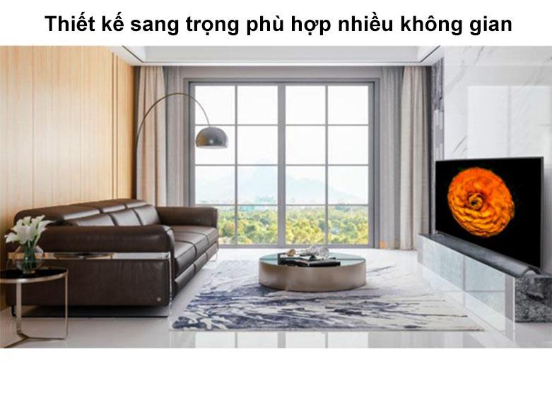 Smart Tivi LG 4K 55 inch 55UN7300PTC | Thiết kế sang trọng phù hợp với nhiều không gian