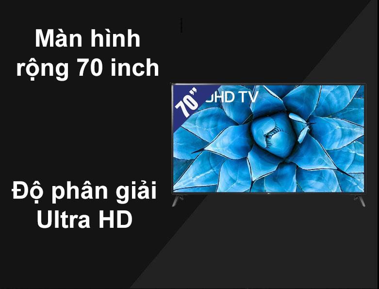 Smart Tivi LG 4K 70 inch 70UN7300PTC   Màn hình rộng 70 inch