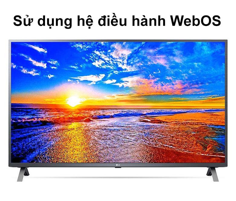Smart Tivi LG 4K 70 inch 70UN7300PTC   Sử dụng hệ điều hành WebOS