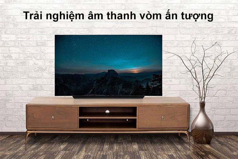 Smart Tivi OLED LG 4K 65 inch 65CXPTA | Trải nghiệm âm thanh vòm ấn tượng