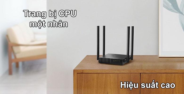 Router TPLink Archer C54 | Trang bị CPU một nhân, Hiệu suất cao
