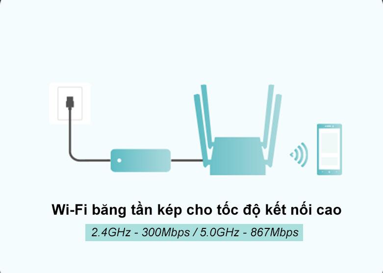 Router TPLink Archer C54 | Wifi băng tần kép cho tốc độ kết nối cao