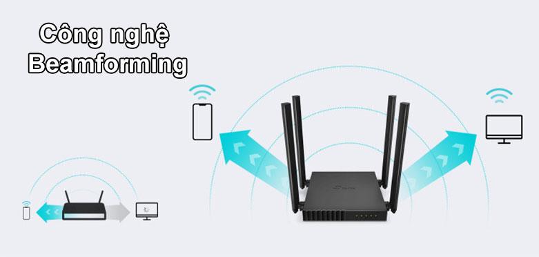 Router TPLink Archer C54 | Công nghệ Beamforming