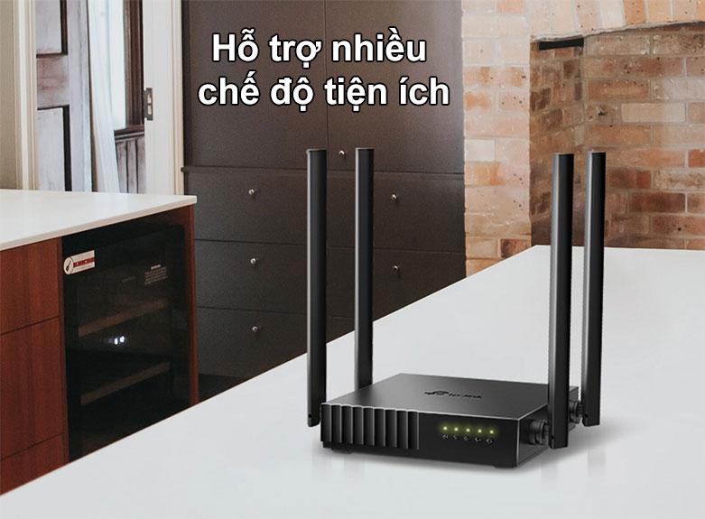 Router TPLink Archer C54 | Hỗ trợ nhiều chế độ tiện ích