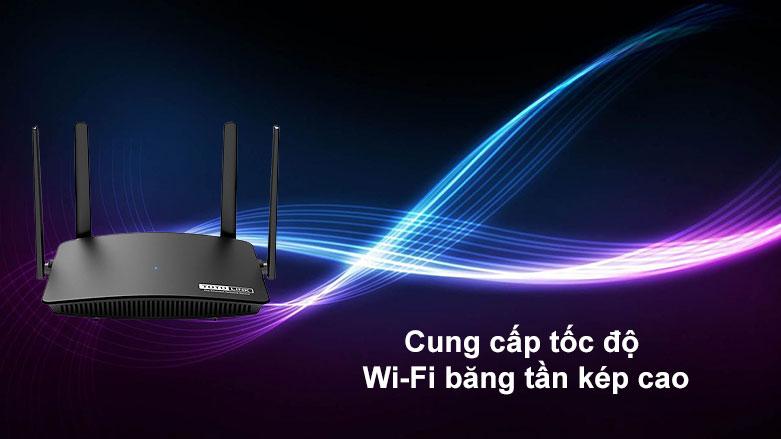 Thiết bị mạng Totolink Router A720R | Cung cấp tốc độ Wi-Fi băng tần kép cao