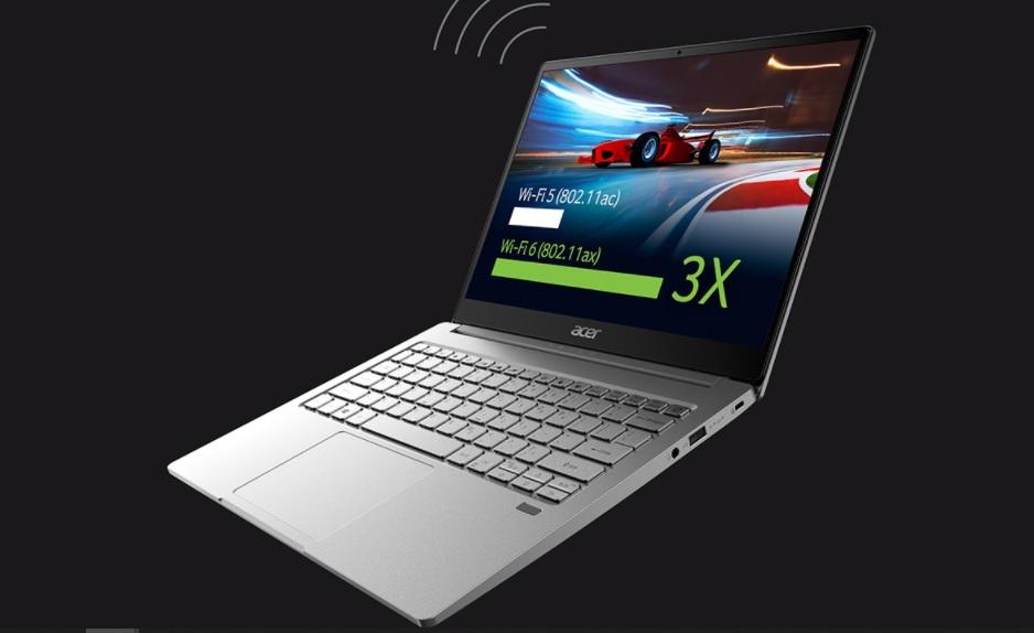 Máy tính xách tay Acer Swift 3 SF314-59-599U NX.A0MSV.001 | Cổng kết nối hiện đại