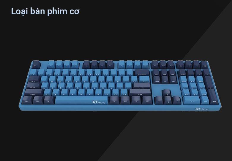 Bàn phím cơ AKKO 3108 SP (Side-printed) Ocean Star Cherry Switch (Red) | Bàn phím cơ