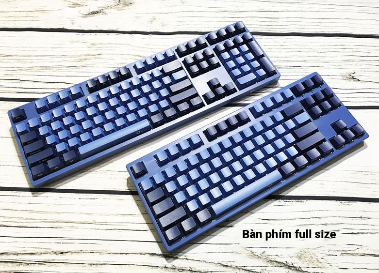 Bàn phím cơ AKKO 3108 SP (Side-printed) Ocean Star Cherry Switch (Blue) | Bàn phím Full size tiện lợi
