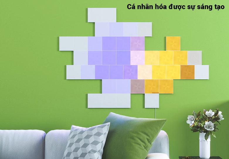 Đèn thông minh Nanoleaf Canvas Smarter Light Kit (NL29-0002SW-9PK)   Cá nhân hóa được sáng tạo
