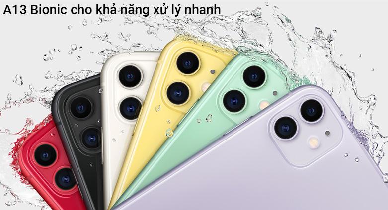Điện Thoại Di Động iPhone 11 64GB | Chip xử lý hiện đại
