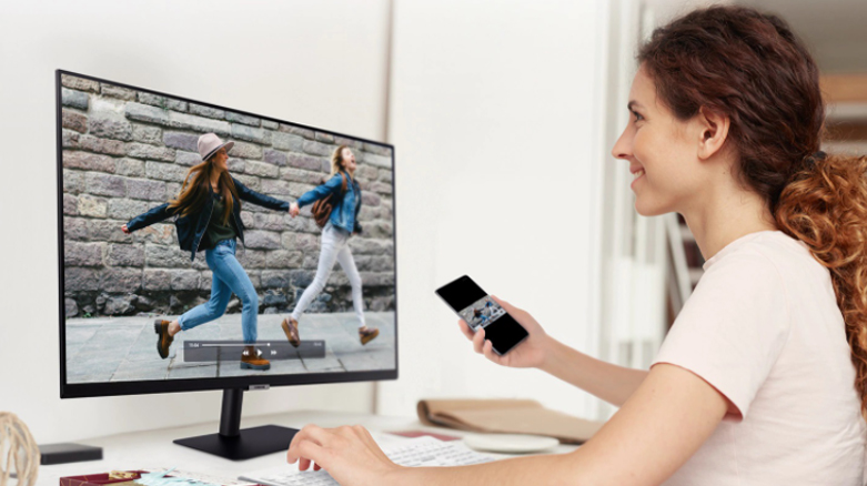 Màn hình LCD SAMSUNG LS32AM700   Tân số quét 60Hz