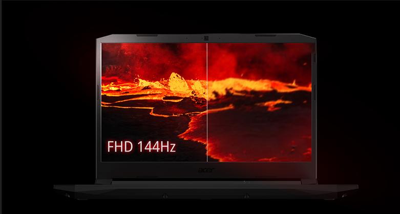 Laptop Acer Nitro 5 AN515-44-R9JM (NH.Q9MSV.003) (AMD Ryzen 5 4600H) (Đen) | Độ phân giải Full HD