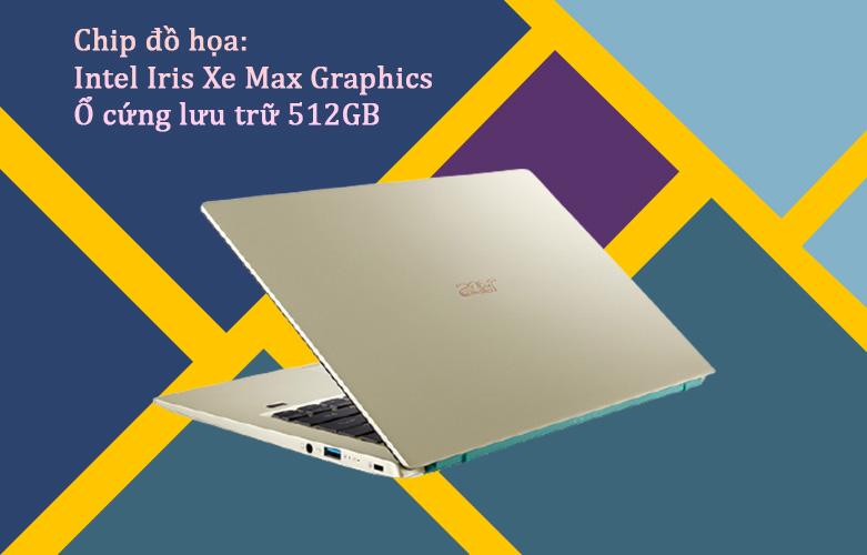 Laptop Acer Swift 3 SF314-510G-57MR   Chip đồ họa hiện đại