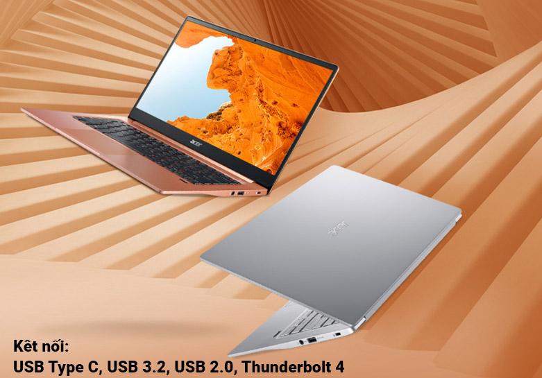 Laptop Acer Swift 3 SF314-59-568P (NX.A0MSV.002) | Đa dạng cổng kết nối