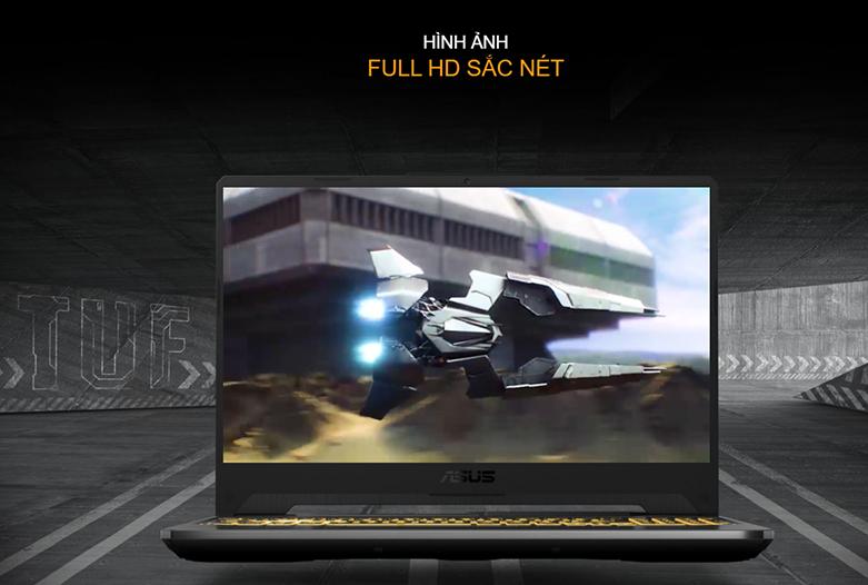 Laptop Asus TUF Gaming FX506LH-HN002T (i5-10300H) (Xám) | Thiết kế đậm chất game thủ