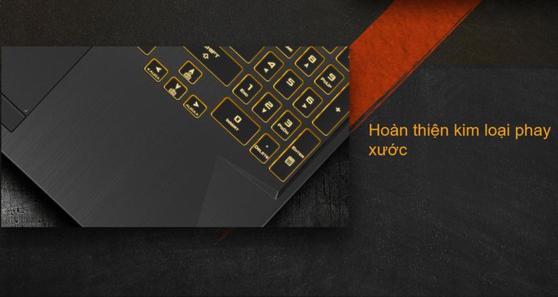 Laptop Asus TUF Gaming FX506LH-HN002T (i5-10300H) (Xám) | Kim loại cao cấp