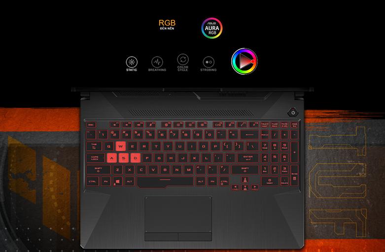 Laptop Asus TUF Gaming FX506LH-HN002T (i5-10300H) (Xám) | Đa dạng công kết nối