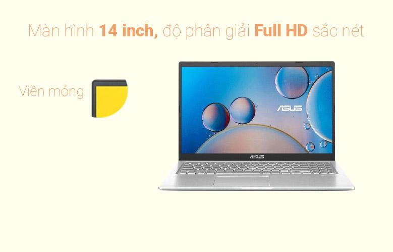 Laptop Asus Vivobook X415MA-BV087T (N4020) (Bạc)   Thiết kế gọn nhẹ trẻ trrung