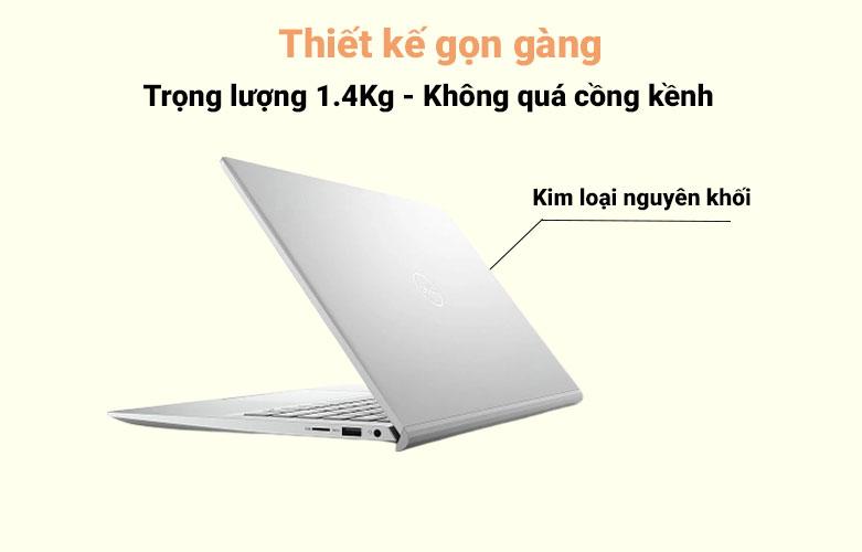 Laptop Dell Inspiron 14 5402 (5402-GVCNH1) (i5-1135G7) (Bạc) | Thiết kế gọn gàng