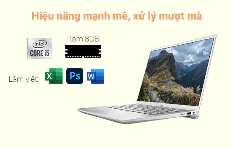 Laptop Dell Inspiron 14 5402 (5402-GVCNH1) (i5-1135G7) (Bạc) | Hiệu năng mạnh mẽ, xử lý mượt mà