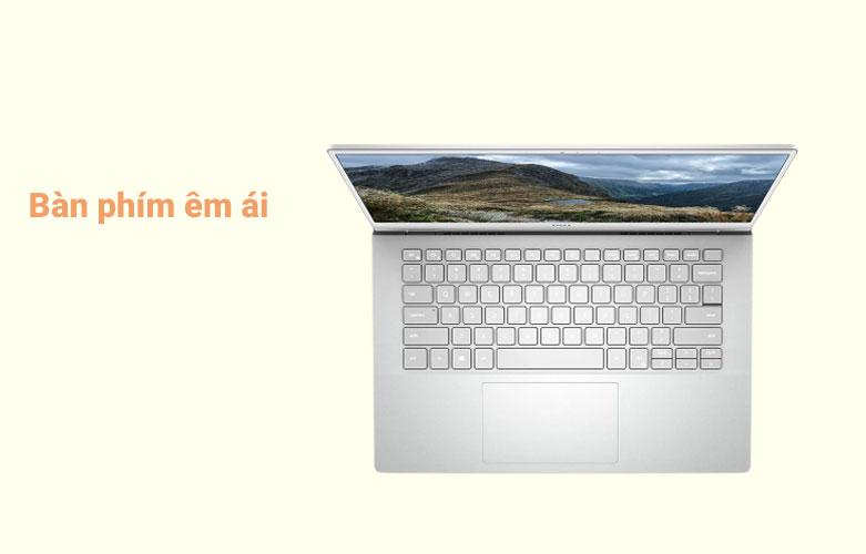 Laptop Dell Inspiron 14 5402 (5402-GVCNH1) (i5-1135G7) (Bạc) | Bàn phím êm ái