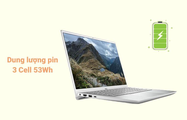 Laptop Dell Inspiron 14 5402 (5402-GVCNH1) (i5-1135G7) (Bạc) | Dung lượng pin 3 Cell 53 Wh
