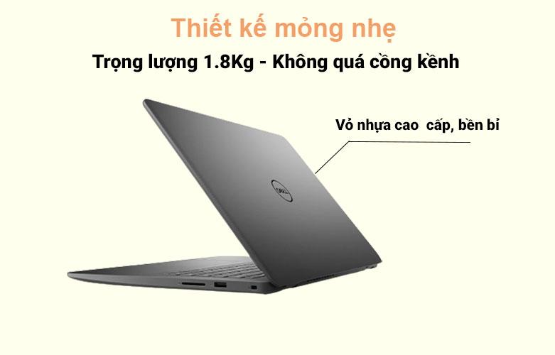 Laptop Dell Vostro 15 3500 (3500-7G3982) (i7-1165G7) (Đen) | Thiết kế mỏng nhẹ