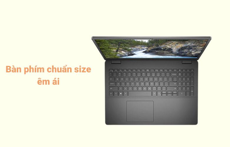 Laptop Dell Vostro 15 3500 (3500-7G3982) (i7-1165G7) (Đen) | Bàn phím chuẩn size êm ái