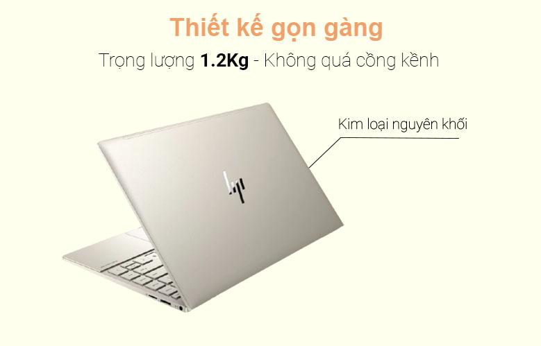Laptop HP Envy 13-ba1027TU (2K0B1PA) (i5-1135G7) (Vàng)   Thiết kế gọn gàng