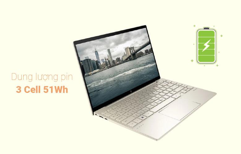 Laptop HP Envy 13-ba1027TU (2K0B1PA) (i5-1135G7) (Vàng)   Dung lượng 3 cell 51 Wh