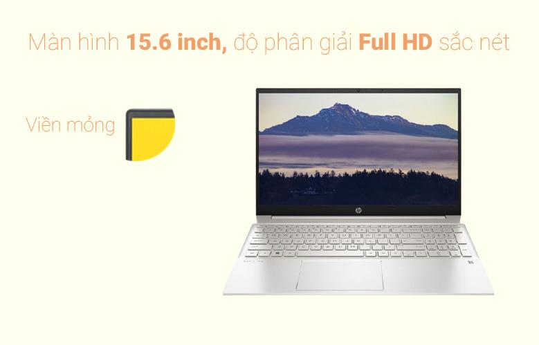 Laptop HP Pavilion 15-eg0007TX (2D9D5PA) (i7-1165G7) (Vàng) | Màn hình 15.6 inch