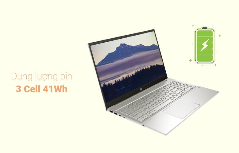 Laptop HP Pavilion 15-eg0007TX (2D9D5PA) (i7-1165G7) (Vàng) | Dung lượng pin 3cell
