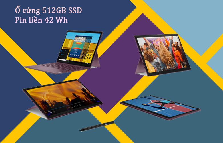 Laptop Lenovo Yoga Duet 7 13IML05-82AS009AVN i5-10210U | Thời lượng pin cao
