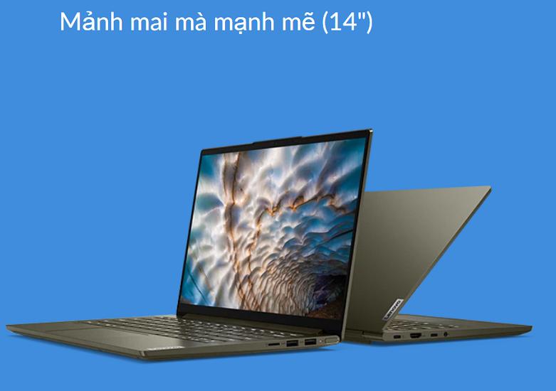 Laptop Lenovo Yoga Slim 7 14ITL05-82A3002QVN | Thiết kế cao cấp và mạnh mẽ