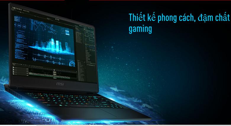 Laptop MSI Leopard GP66 10UE-206VN | Thiết kế phong cách, đạm chất gaming