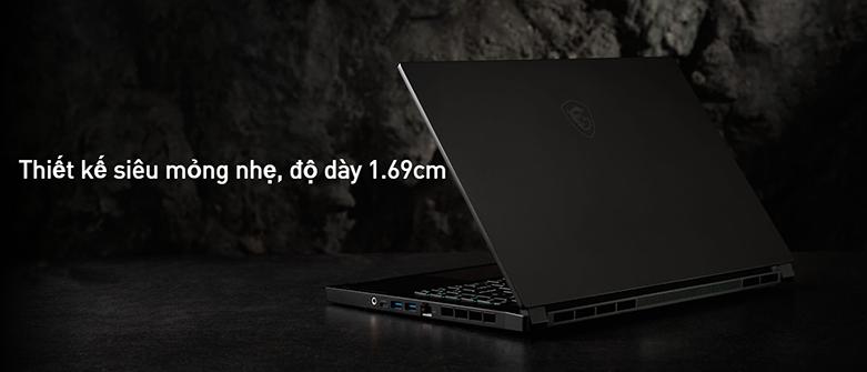 Laptop MSI Modern 14 B11MO-073VN (i7-1165G7) (Xám) | Thiết kế siêu mỏng nhẹ