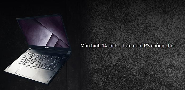 Laptop MSI Modern 14 B11MO-073VN (i7-1165G7) (Xám) | Màn hình có độ phân giải cao