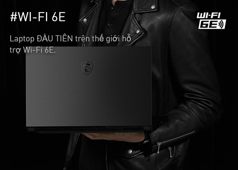 Laptop MSI Modern 14 B11MO-073VN (i7-1165G7) (Xám) | Hỗ trợ Wi-Fi 6E
