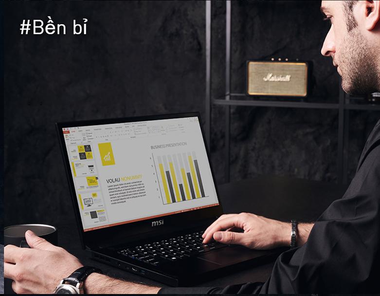 Laptop MSI Modern 14 B11MO-073VN (i7-1165G7) (Xám) | Pin 3 cell 52 Wh